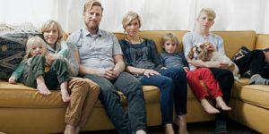 欧米人家族写真