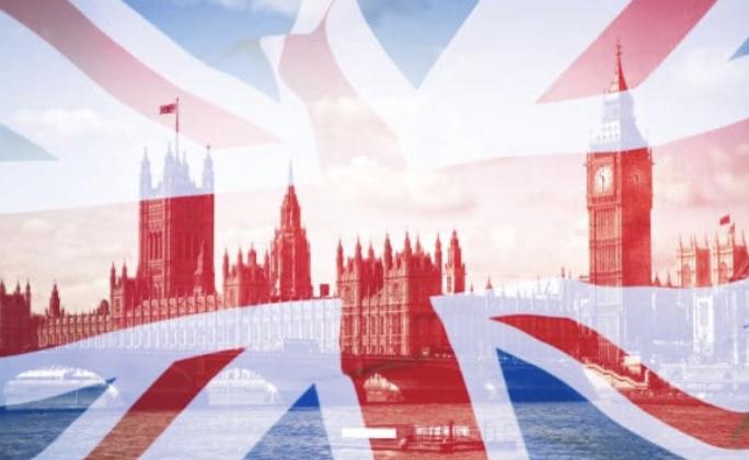 イギリス国旗とビック・ベン