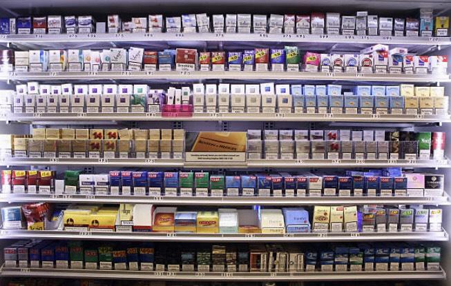 様々な種類のたばこ