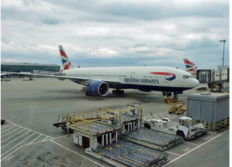 飛行機 British Airways