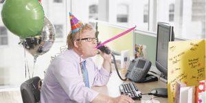 職場 誕生日