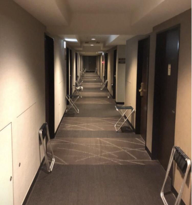 ホテル隔離